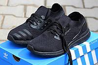 Мужские кроссовки Adidas Ultra Boost Uncaged 2017 черные