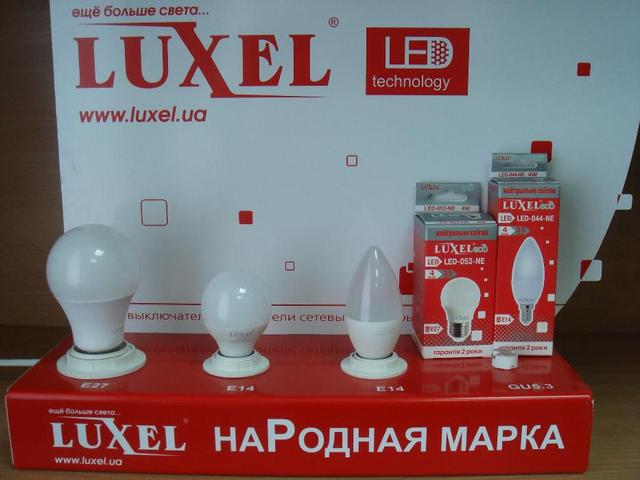 Лампы светодиодные LUXEL