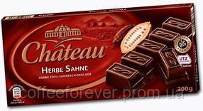 Шоколад черный Chateau Herbe Sahne 200 г.