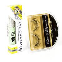Накладные ресницы Beauties Factory Eyelashes (IL-18E) + клей для ресниц в подарок