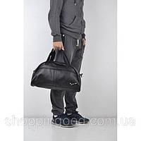 69972f321d06 Спортивная сумка 114661 черная искусственная кожа плечевой ремень 45см х  28см х 17см копия