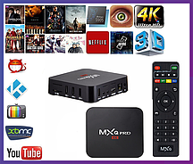Приставка Android TV Box MXQ Pro 4K, 1Gb/8Gb на Amlogic S905