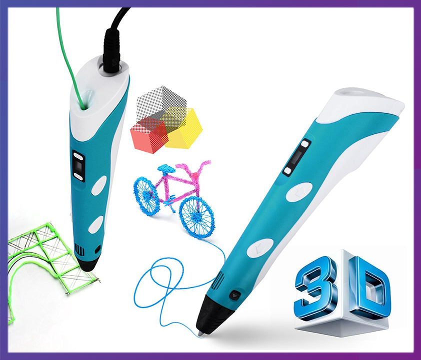 3D Ручка 3D Pen-2 с Led дисплеем - Интернет магазин Zakupasik в Одессе