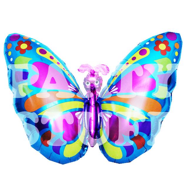 фольгированная бабочка