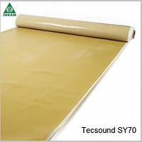 Звукоизоляционные мембраны Tecsound SY 70, трубопровода