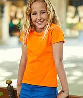 Детская футболка для девочек 100% хлопок
