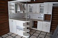Кухня в стиле прованс из дерева