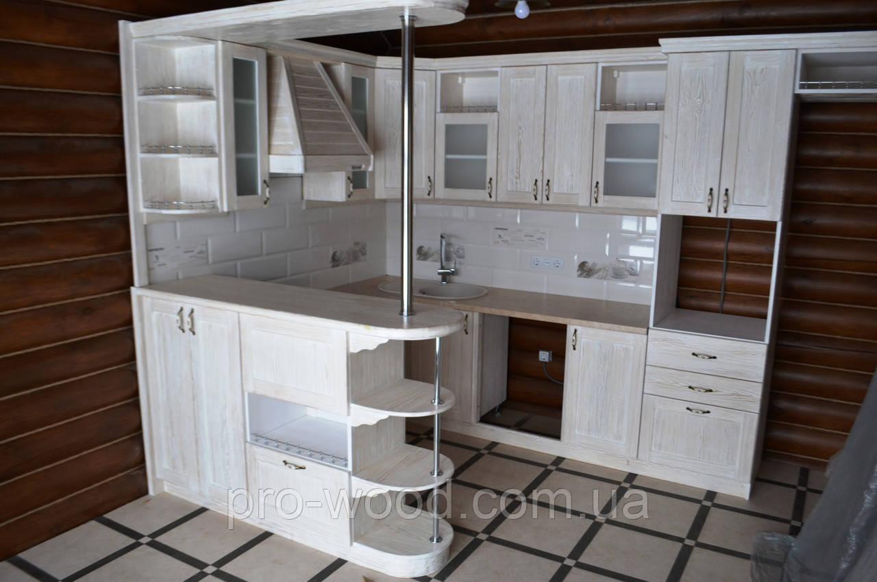 кухня в стиле прованс из дерева цена 11 700 грнпогм купить в