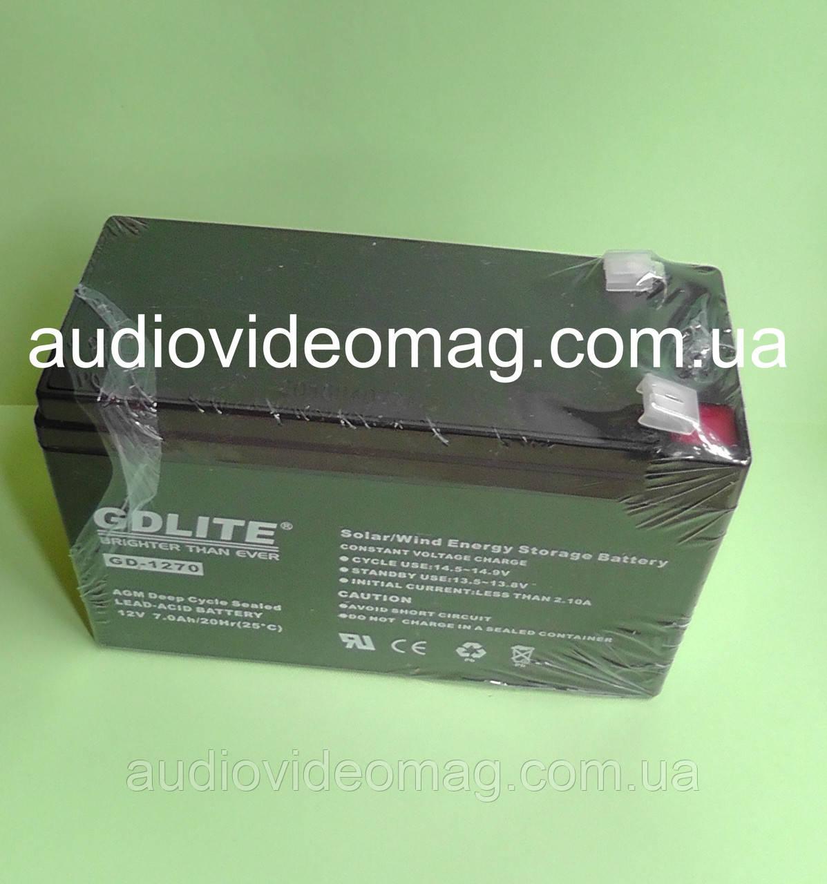 Аккумуляторная батарея 12V 7 Ah для ИБП (источника бесперебойного питания)