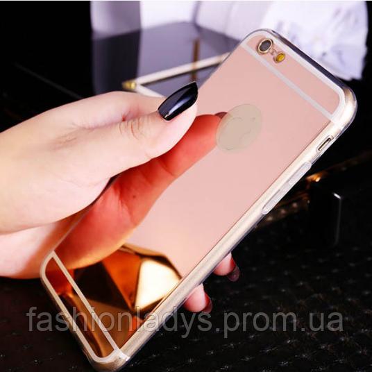 Чехол с зеркальным ефектом для iPhone 5s