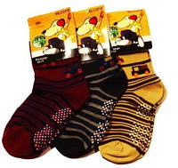 Носки с тормозами для мальчика 26-31 «Корона»