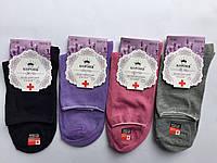 Носки женские медицинские хлопковые «Корона» 37-42