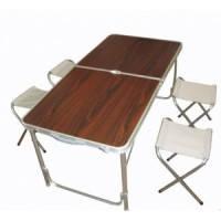 Стол кемпинговый  120*60 см + 4 стула