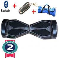 Гироборд, гироскутер, Smartway 8 дюймів Чорний-червоний (smart board, сігвей)