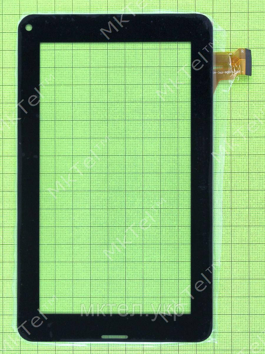 Сенсор 7'' 185x111mm 30pin, черный orig-china