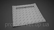Душова плита з лінійним трапом Radaway 79x79 (для плитки від 8 до 12 мм)