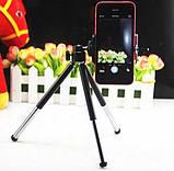Штатив трипод з платформою для смартфона з телескопічними ніжками 15-20см ЧОРНИЙ SKU0000709, фото 9