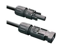 Коннектор последовательный MC4 пара с установкой