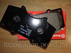 Колодки тормозные передние Pajero Brembo P83 066