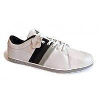 Стильные мужские кроссовки из кожи ADIDAS р.42,43,44,45 для спорта и повседневной носки