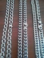 Массивные толстые цепочки. Цепь из медицинской стали 316L. Лучше серебра, не окисляется, не чернеет.