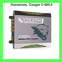 Усилитель CAR AMP Cougar C-600.4 2000 W Max Power!Акция