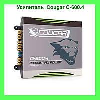 Усилитель CAR AMP Cougar C-600.4 2000 W Max Power!Акция