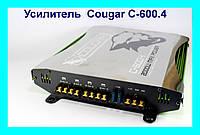 Усилитель CAR AMP Cougar C-600.4 2000 W Max Power