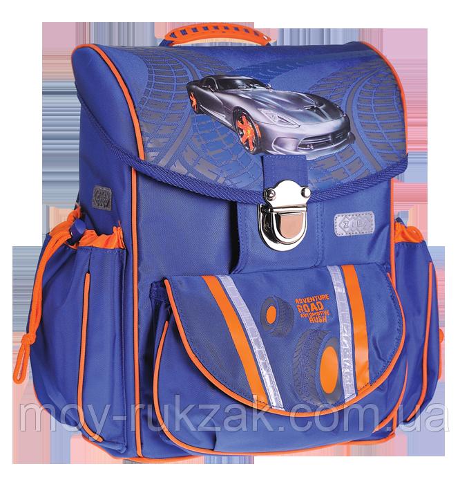 Ранец школьный, ортопедический ZiBi Satchel ROAD (ZB15.0115RD) арт.530121