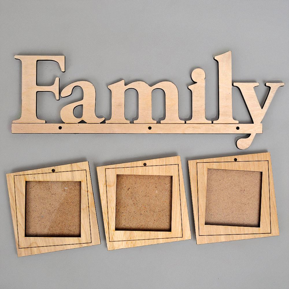 """Фоторамка """"Family_3ph"""""""