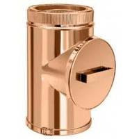 Ревизия для дымохода Коминвент термо к/медь D-450