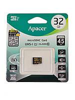 Карта памяти Apacer microSDHC UHS-I 32GB Class10 (AP32GMCSH10U1-RA)
