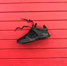 """Мужские кроссовки Adidas EQT Running Support ADV """"Black"""", фото 3"""