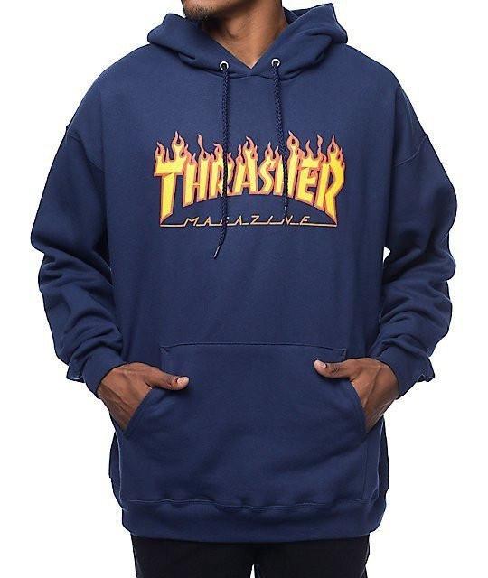 Толстовка Thrasher Flame Logo Худи мужская