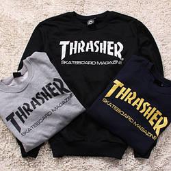 Свитшот THRASHER Skateboard Magazine  Оригинальная бирка