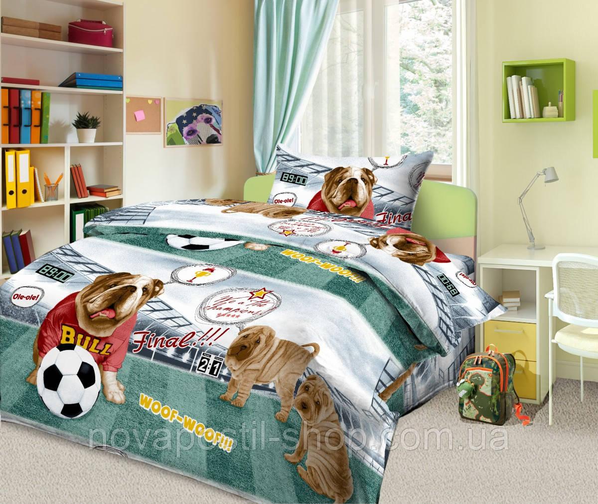 Комплект постельного белья Золотой гол (подростковый)