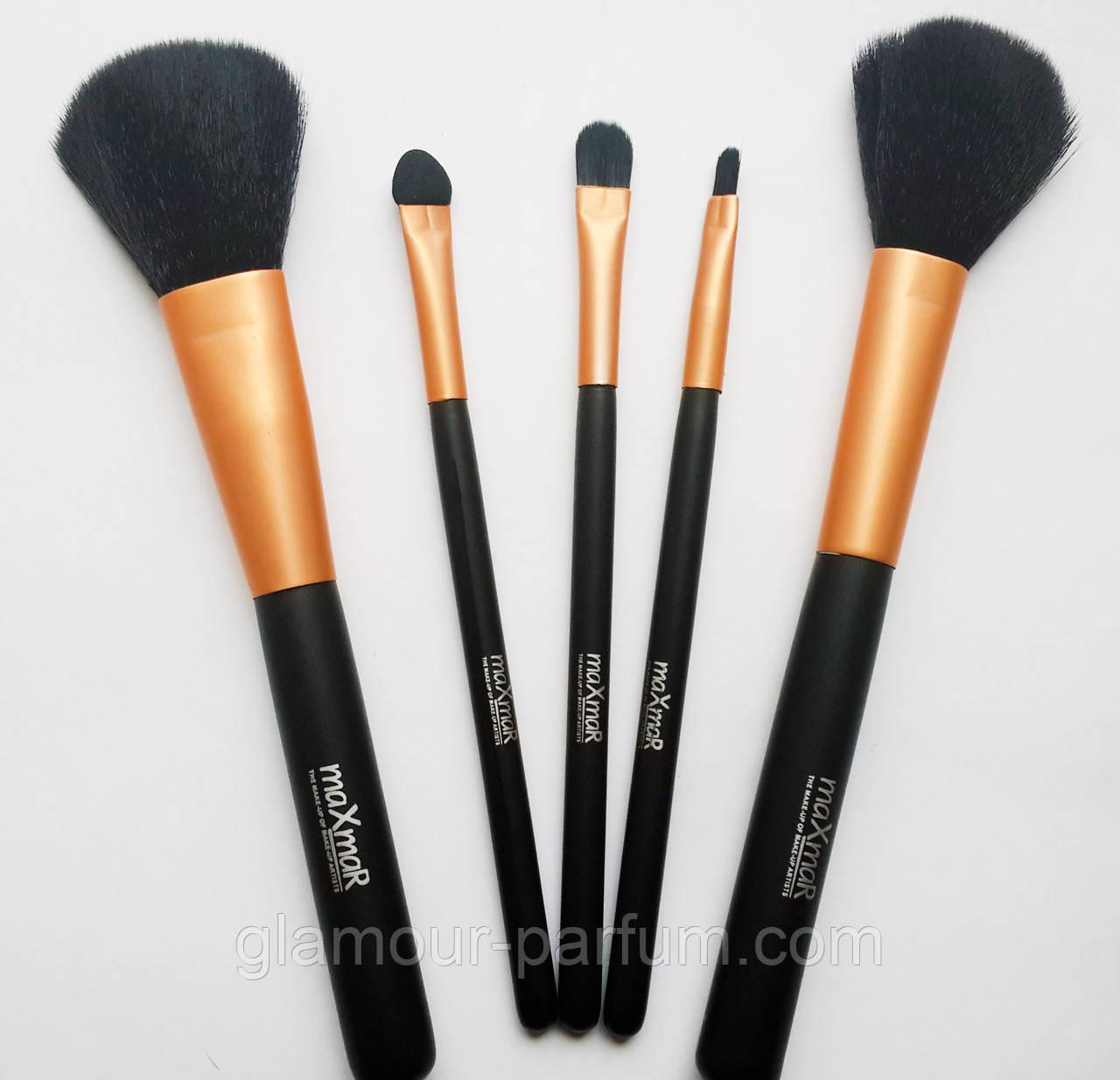 Купить Набор для макияжа 5 кисточек MaxMar Professional Brush (МаксМар Профешин Бруш)