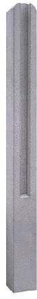 Столб для еврозабора (трехсекционный)  , фото 2