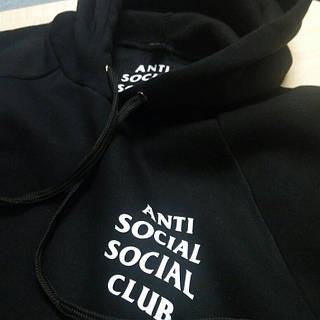 Толстовка A.S.S.C. Худи Anti Social Social Club I Черная + бирки