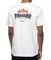Футболка с принтом HUF Thrasher TDS 2016 мужская
