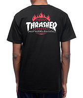Футболка HUF Thrasher TDS 2016 мужская