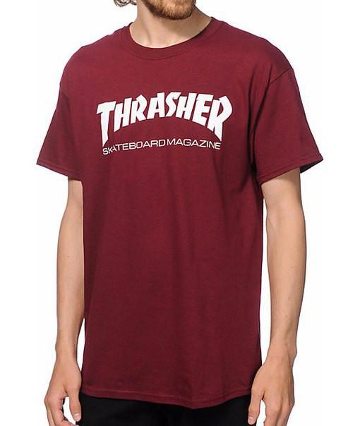 Футболка мужская с принтом Thrasher logo