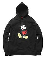 Худи мужская с принтом Supreme Mickey Mouse Толстовка