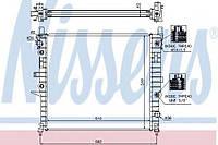 Радиатор охлаждения MERCEDES ML-CLASS W163 (98-)