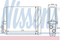 Радиатор печки VOLVO S60/S70/S80/XC90
