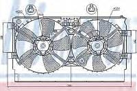 Вентилятор радиатора MITSUBISHI LANCER (CX0) (07-) 2.0 i