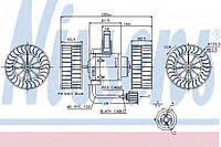 Вентилятор отопителя SCANIA 4-SERIES (95-) R 114 DC11.01/335 8/19