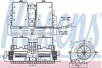 Вентилятор отопителя RVI - RENAULT PREMIUM (00-) 370 DCI/11