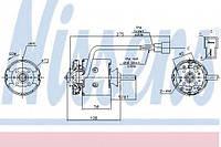 Вентилятор отопителя SCANIA 3-SERIES (87-) DSC9.10