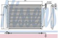 Радиатор кондиционера BMW X5 E53 (00-)